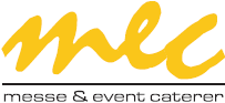 Logo mec – messe & event caterer