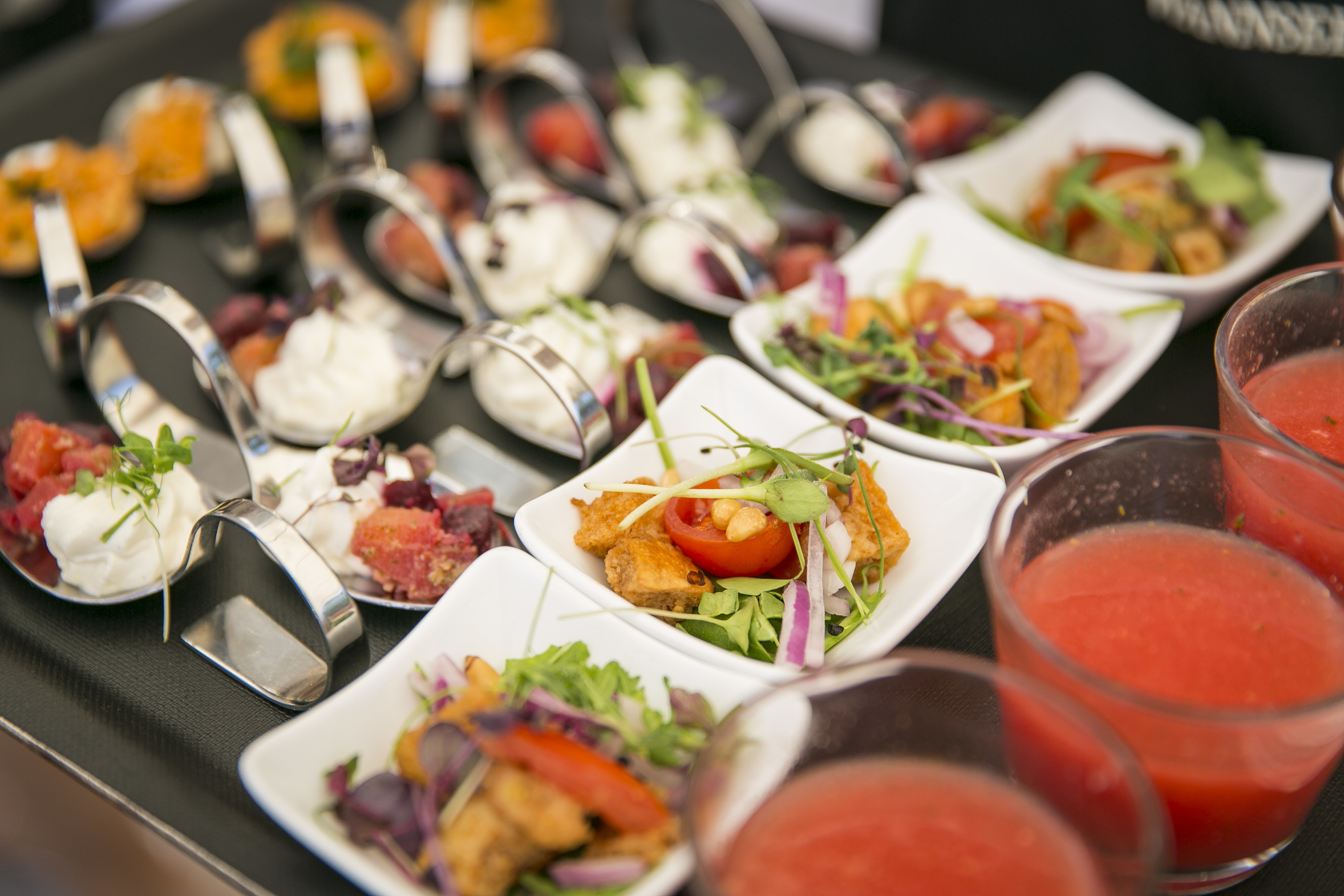 With The Flying Buffet We Prepare Many Delicious Little Somethings For You And Your Guests Arranged Attention To Detail Finger Food